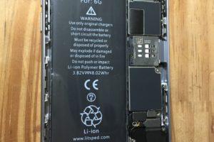 アイフォン6のバッテリー