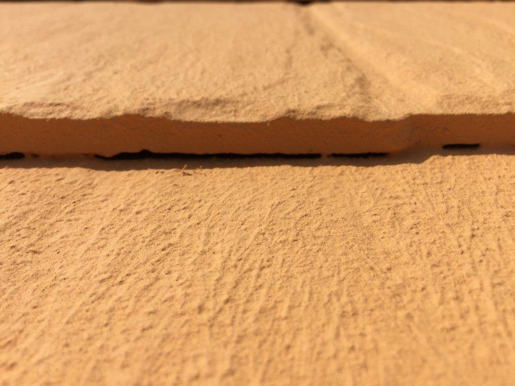 塗装で隙間が埋まる