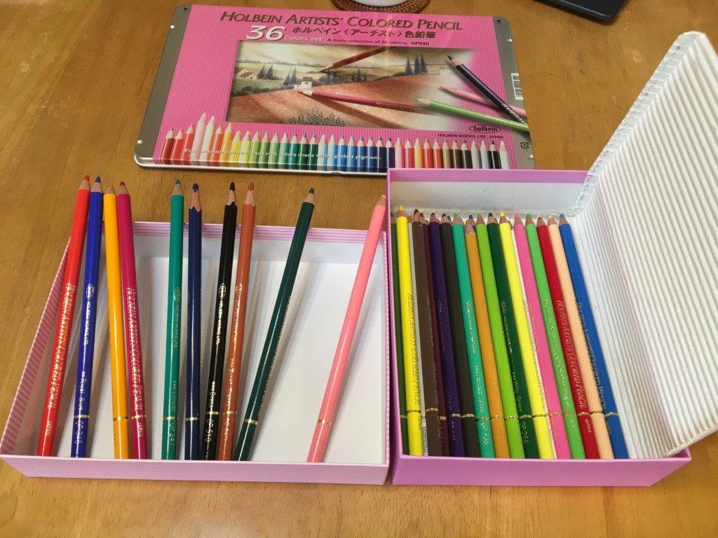 色鉛筆引越