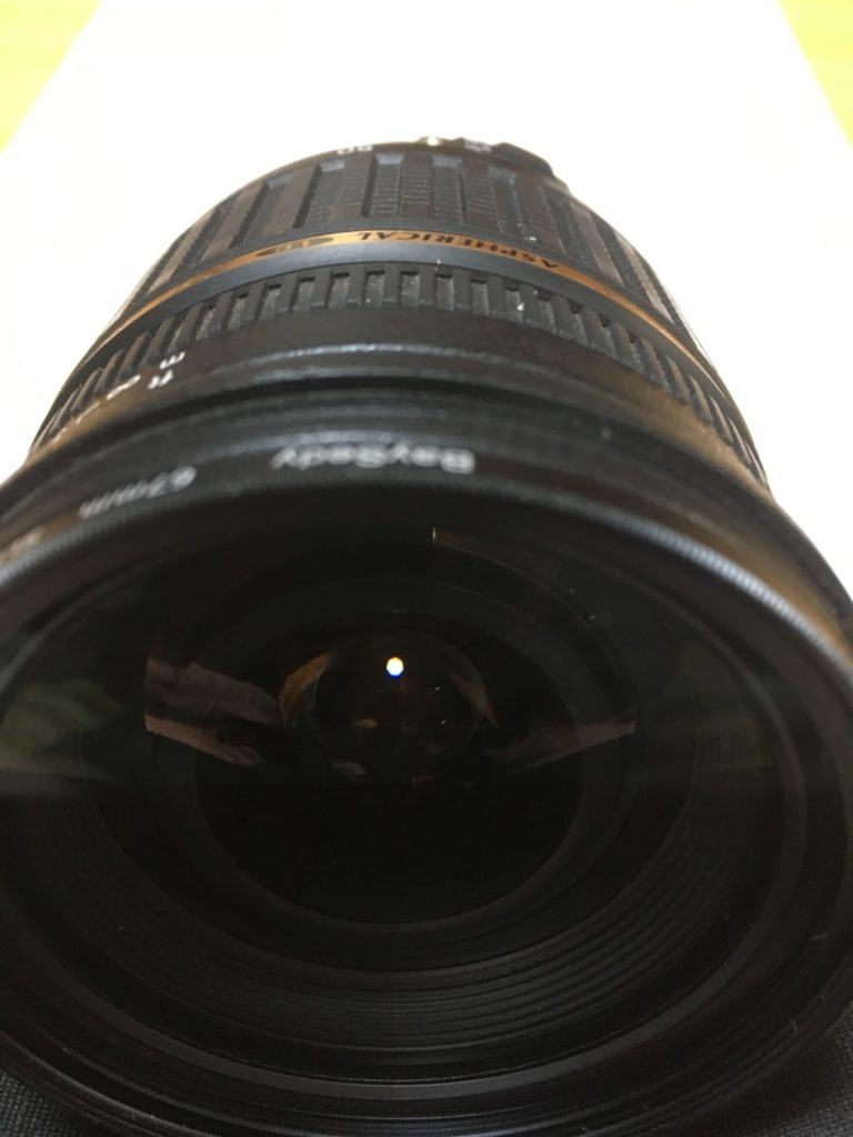 Middle of aperture