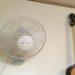 壁掛け扇風機のすすめ★空間利用★押し入れスッキリ★合理的